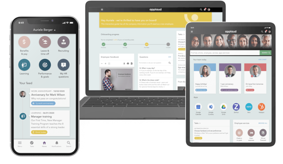 employee portal on mobile devices
