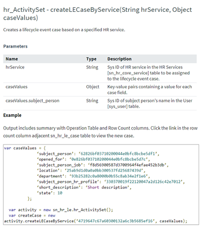 Service Now Low Code Example