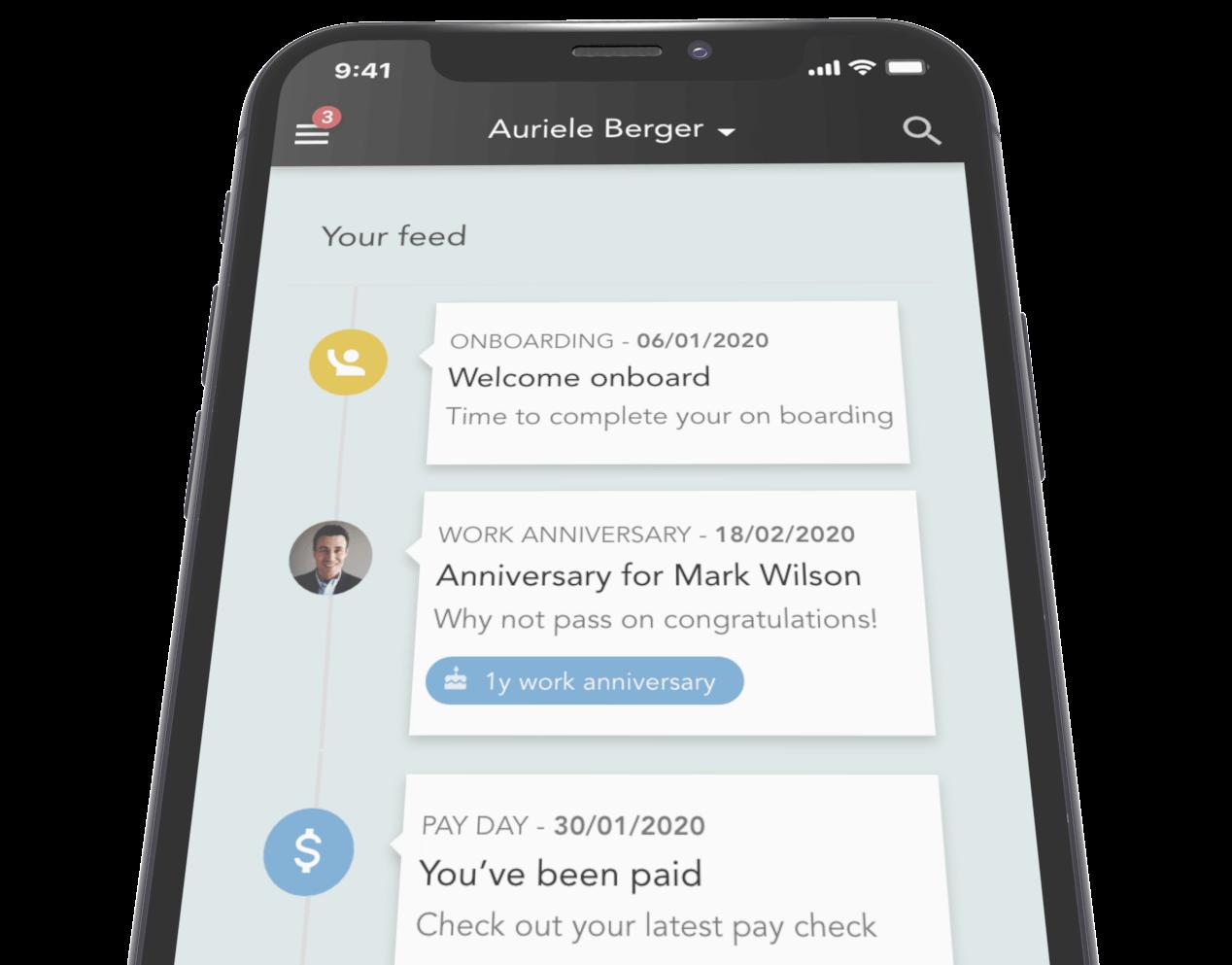 Applaud-HR-Feed-iPhone-Timeline