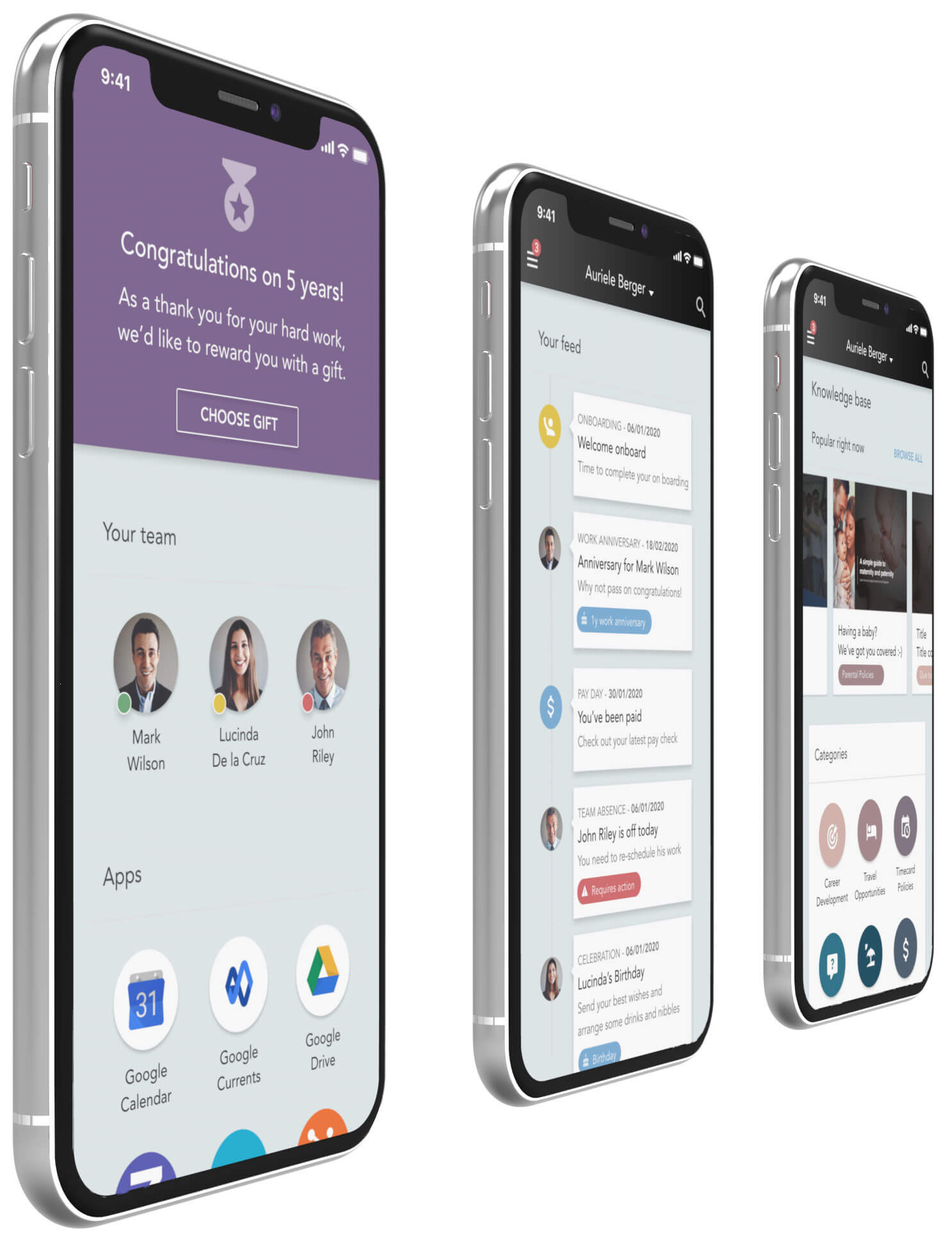 Applaud  - a premium mobile experience for consumer-grade HR apps