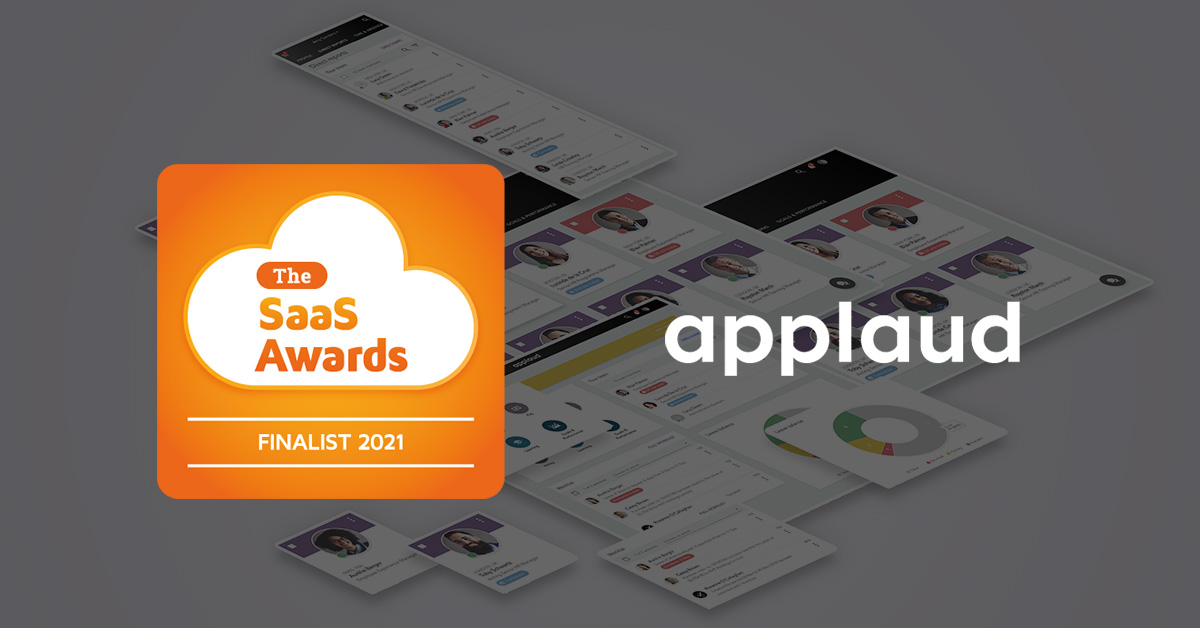 Applaud SaaS Awards Finalist 2021