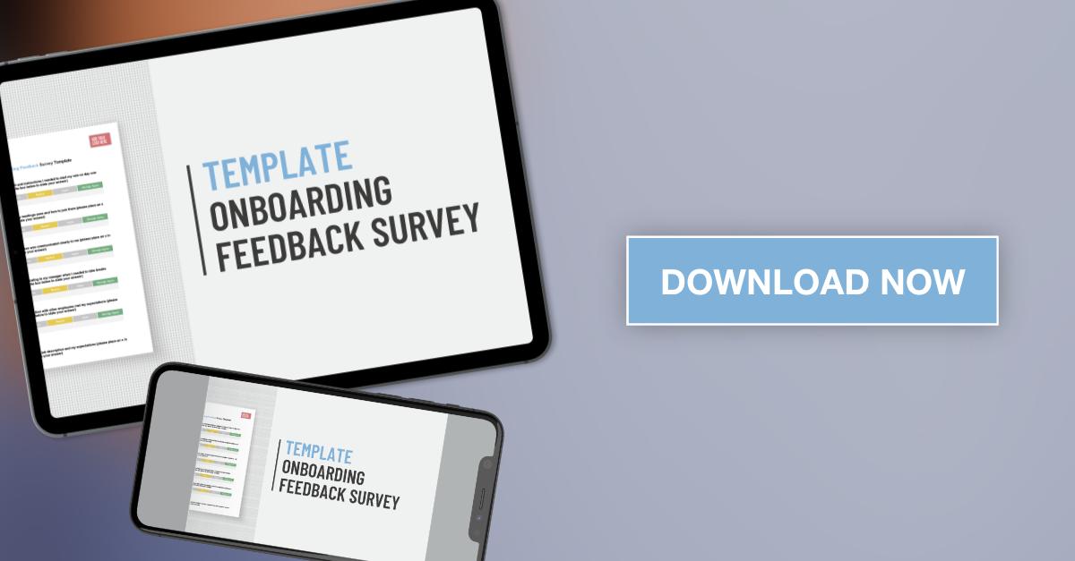 Applaud HR Onboarding feedback Survey Template download graphic