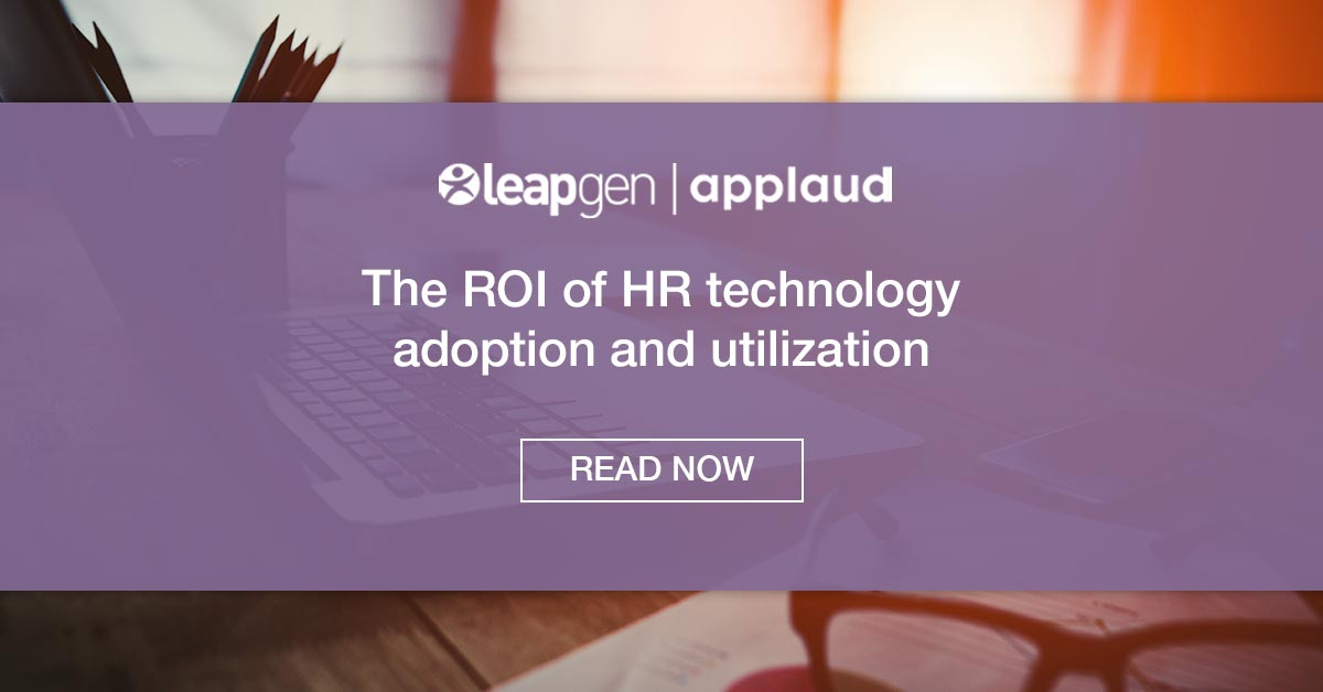 The ROI of HR Technology Adoption and Utilization