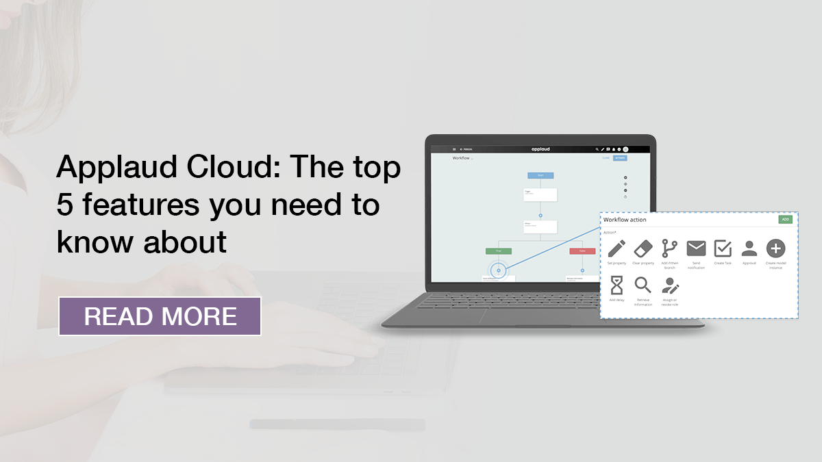 Applaud HR Cloud: The top 5 features you need to know about - read more graphic