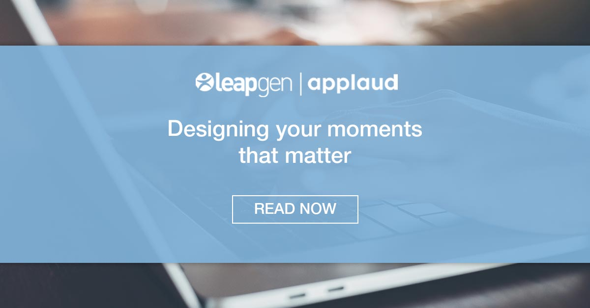 Designing Your Moments That Matter