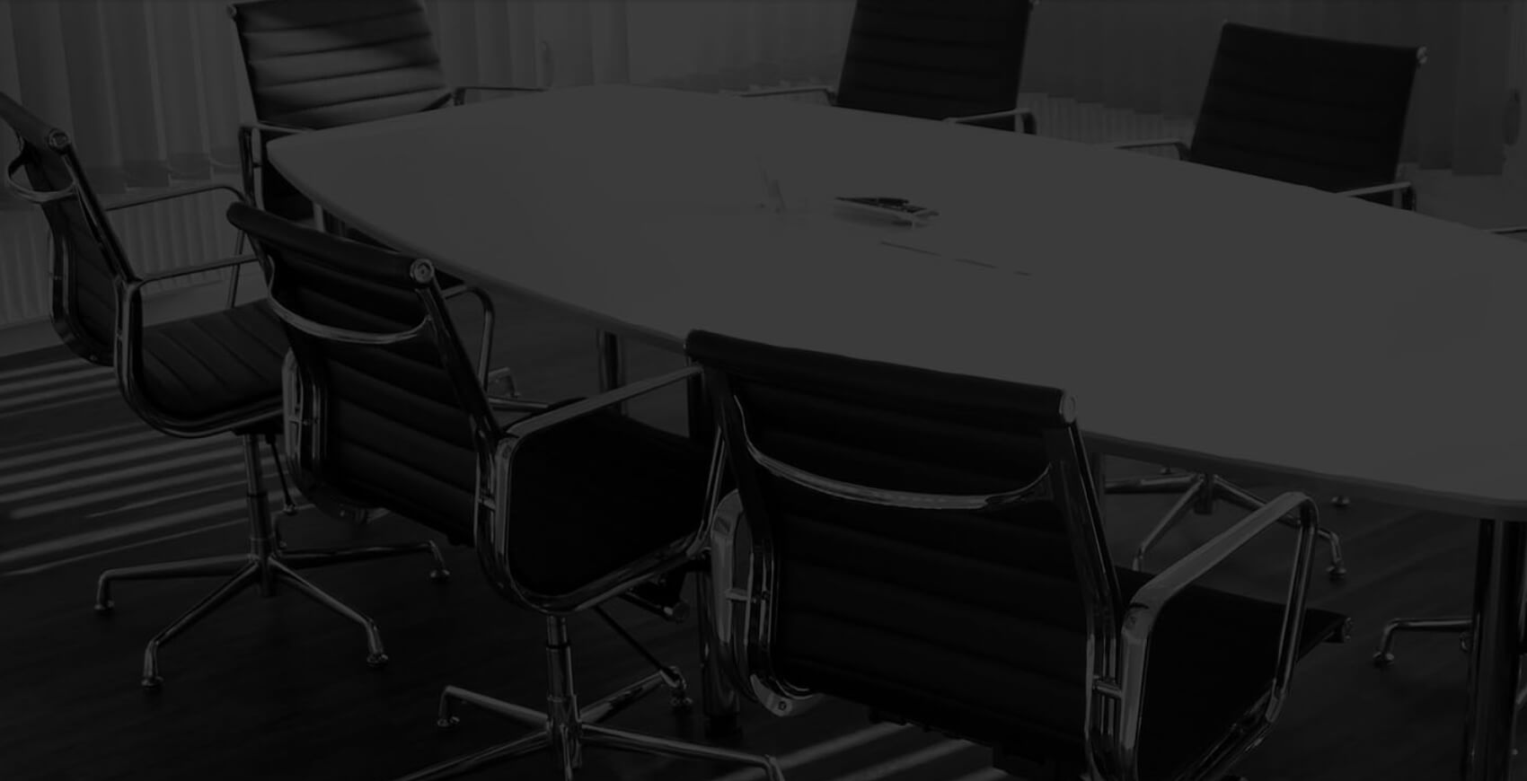 HR meeting room table and chairs