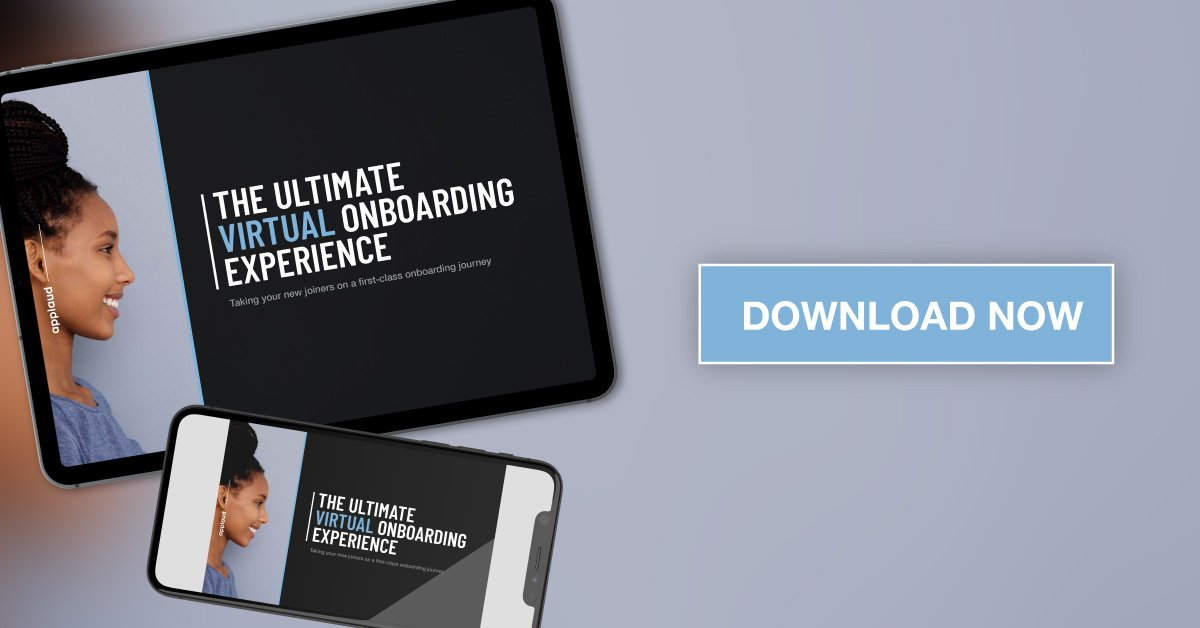 The ultimate virtual onboarding experience from Applaud HR download graphic
