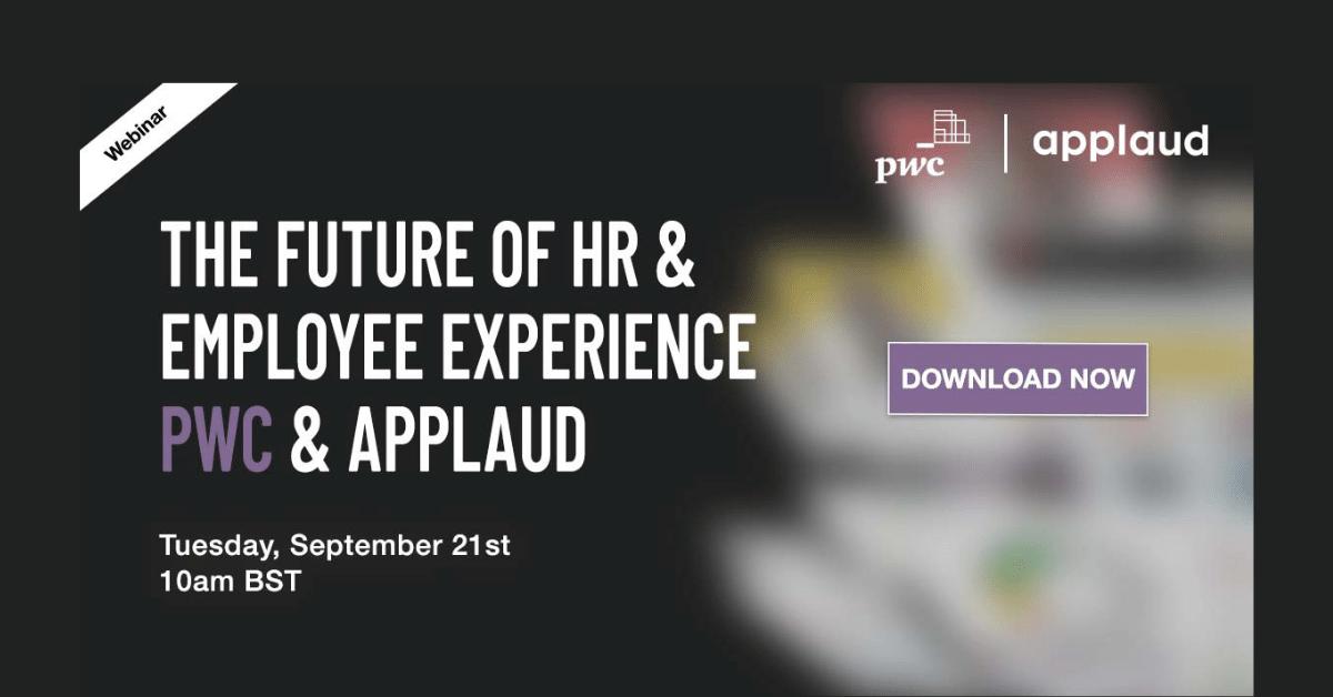 pwc hr & employee experience