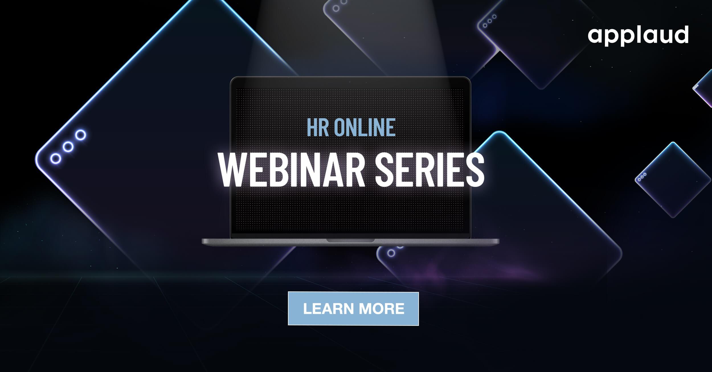 hr online webinar series